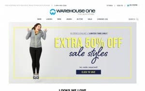 Warehouse One Coupons