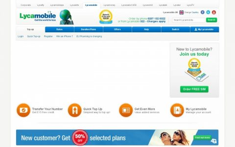 20% Off With Lycamobile Discount Code & Vouchers 2019