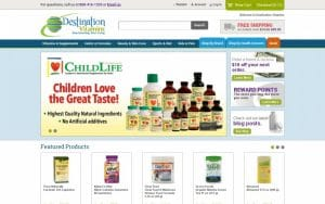 Destination Vitamins Coupons
