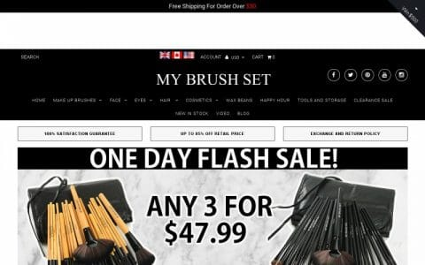 Save $120 Off The Pink Glory Brush Set – Now As Low As $30 + Get A Free Case