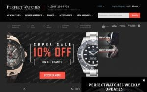 Perfect Watches Coupons