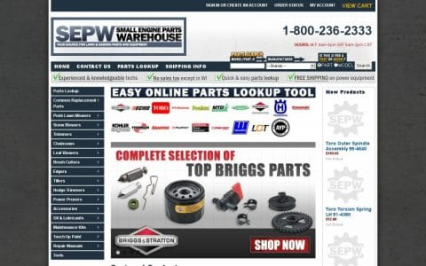 10% Off With Small Engine Parts Warehouse Discount Code & Vouchers 2019