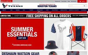 Houston Texans Promo Codes